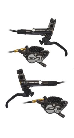 Shimano Saint BR-M820 Hamulec tarczowy z H03C metalowy zestaw czarny
